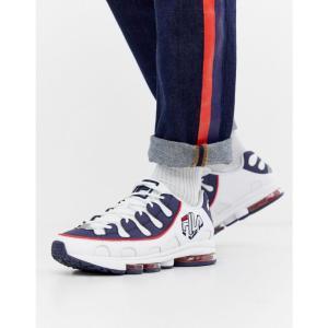 フィラ Fila メンズ スニーカー シューズ・靴 Silva Trainer In White/Navy White|fermart-shoes