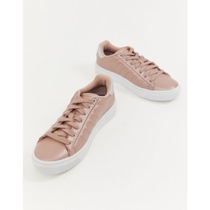 ケースイス K-Swiss レディース スニーカー シューズ・靴 K Swiss court frasco trainers in pink and white Pink|fermart-shoes