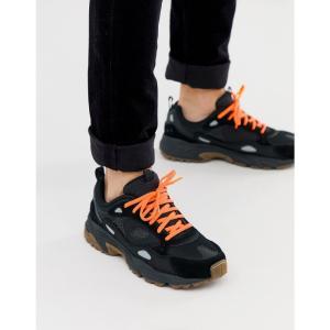 スケッチャーズ Skechers メンズ スニーカー シューズ・靴 Stamina Contic chunky trainers in black Black fermart-shoes