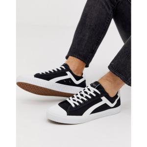 セレクテッド オム Selected Homme メンズ スニーカー シューズ・靴 canvas trainers Black|fermart-shoes