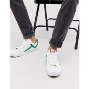 セレクテッド オム Selected Homme メンズ スニーカー シューズ・靴 canvas trainers Gumdrop green|fermart-shoes