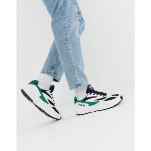 フィラ Fila メンズ スニーカー シューズ・靴 Venom trainers in white White|fermart-shoes