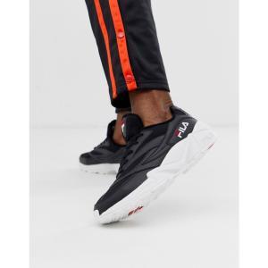 フィラ Fila メンズ スニーカー シューズ・靴 Venom trainers in black Black|fermart-shoes