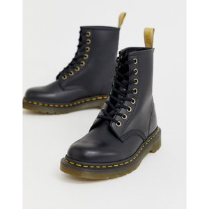 ドクターマーチン Dr Martens レディース ブーツ ショートブーツ シューズ・靴 Vegan 1460 Classic Ankle Boots In Black ブラック fermart-shoes
