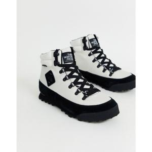 ザ ノースフェイス The North Face メンズ ブーツ シューズ・靴 Back-2-Berkeley boots in white/black ホワイト|fermart-shoes