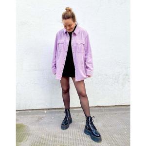ドクターマーチン Dr Martens レディース ブーツ 厚底 シューズ・靴 Jadon Max chunky flatform boots in black ブラック fermart-shoes