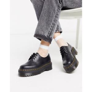 ドクターマーチン Dr Martens レディース シューズ・靴 1461 Quad Chunky Shoe ブラック fermart-shoes