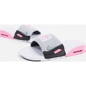 ナイキ Nike メンズ サンダル エアマックス 90 シューズ・靴 Air Max 90 slide in white/pink ホワイト/ピンク fermart-shoes