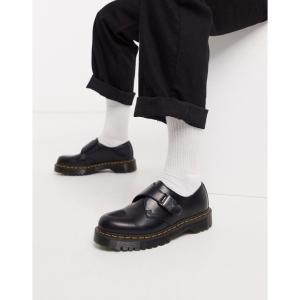 ドクターマーチン Dr Martens メンズ シューズ・靴 fenimore buckle strap shoes in black ブラック fermart-shoes