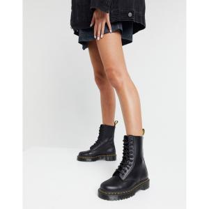 ドクターマーチン Dr Martens レディース ブーツ シューズ・靴 1490 10 eye Bex boots in black ブラック fermart-shoes