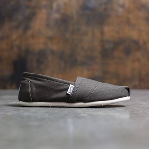 トムズ レディース スニーカー シューズ・靴 TOMS Olive Canvas - Tarmac green / olive|fermart-shoes