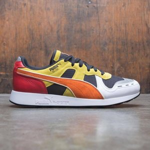 プーマ Puma メンズ スニーカー シューズ・靴 x Roland RS-100 black / orange / white|fermart-shoes