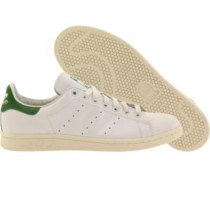 アディダス メンズ スニーカー シューズ・靴 Adidas Stan Smith white / white / green fermart-shoes