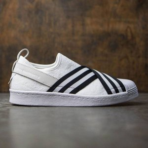 アディダス メンズ スニーカー シューズ・靴 Adidas White Mountaineering Superstar Slip-On Primeknit white / core black / footwear white|fermart-shoes