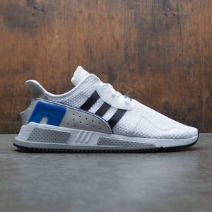 アディダス Adidas メンズ スニーカー シューズ・靴 EQT Cushion ADV white / core black / collegiate royal|fermart-shoes