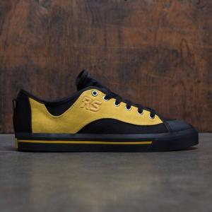 アディダス メンズ スニーカー シューズ・靴 Adidas x Raf Simons Spirit V black / corn yellow / core black|fermart-shoes