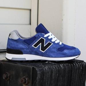 ニューバランス New Balance メンズ スニーカー シューズ・靴 1400 Explore by Air M1400CBY - Made In USA blue / black fermart-shoes