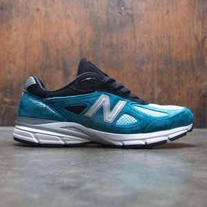 ニューバランス New Balance メンズ スニーカー シューズ・靴 990v4 M990DM4 blue/moroccan blue/dark cyan|fermart-shoes