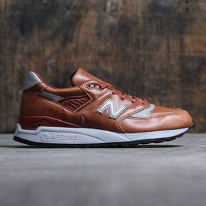 ニューバランス New Balance メンズ スニーカー シューズ・靴 998 Age of Exploration M998BESP brown/silver|fermart-shoes