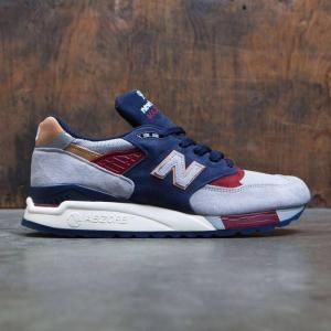 ニューバランス メンズ スニーカー シューズ・靴 New Balance 998 Desert Heat M998CSU - Made In USA gray / navy|fermart-shoes