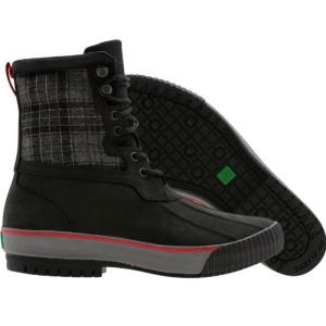 ピーエフフライヤー メンズ スニーカー シューズ・靴 PF Flyers Vulc Leather Boot black|fermart-shoes