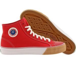 ピーエフフライヤー メンズ スニーカー シューズ・靴 PF Flyers Center High red|fermart-shoes