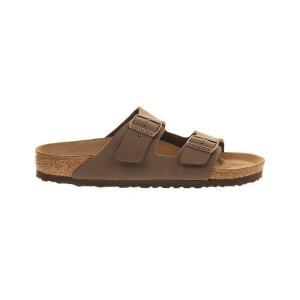 ビルケンシュトック birkenstock レディース サンダル・ミュール シューズ・靴 arizona faux-leather sandals Mocca|fermart-shoes