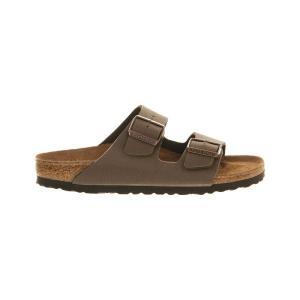 ビルケンシュトック レディース サンダル・ミュール シューズ・靴 arizona faux-leather sandals Mocha|fermart-shoes