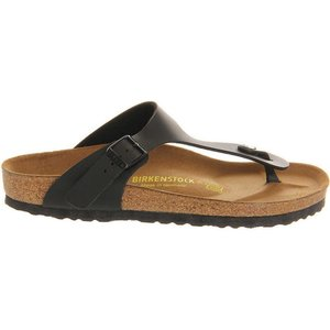 ビルケンシュトック レディース サンダル・ミュール シューズ・靴 ramses faux-leather sandals Black|fermart-shoes