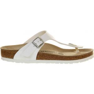 ビルケンシュトック レディース サンダル・ミュール シューズ・靴 ramses faux-leather sandals White|fermart-shoes