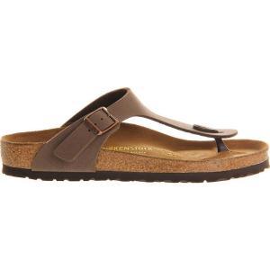 ビルケンシュトック birkenstock レディース シューズ・靴 サンダル faux-leather thong sandals Brown moca|fermart-shoes