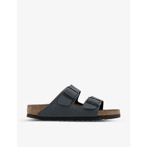 ビルケンシュトック レディース サンダル・ミュール シューズ・靴 arizona nubuck leather sandals Basalt nubuck|fermart-shoes