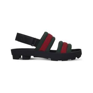 b9cd1ac1a9fb グッチ gucci メンズ サンダル シューズ・靴 sam webbing and leather sandals Black/comb