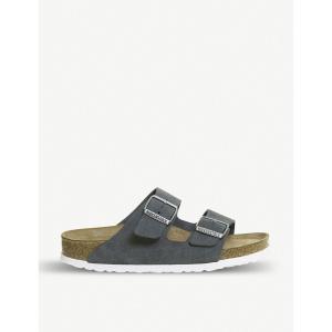 ビルケンシュトック メンズ サンダル シューズ・靴 arizona birko-flor sandals Stone suede fermart-shoes