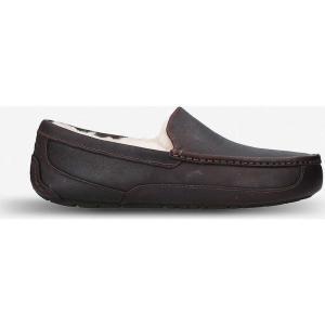 アグ ugg メンズ ローファー シューズ・靴 ascot suede loafers Dark brown|fermart-shoes