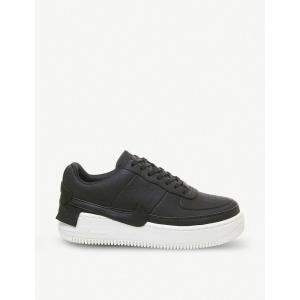 ナイキ NIKE レディース スニーカー エアフォースワン シューズ・靴 Air Force 1 Jester XX leather trainers BLACK SAIL|fermart-shoes