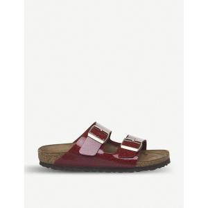 ビルケンシュトック birkenstock レディース ビーチサンダル シューズ・靴 arizona birko-flor sandals Magic snake bordeaux fermart-shoes