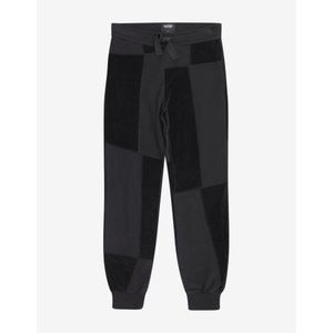 クリストファー レイバーン Christopher Raeburn メンズ スウェット・ジャージ ボトムス・パンツ Jersey Mix Sweat Pants Black|fermart-shoes