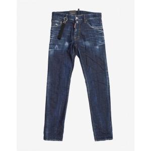 ディースクエアード Dsquared2 メンズ ジーンズ・デニム ボトムス・パンツ Blue Distressed Cool Guy Jeans Blue|fermart-shoes