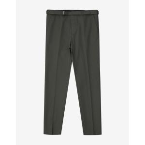 ヴァレンティノ Valentino メンズ ボトムス・パンツ Khaki Belted Trousers Green|fermart-shoes