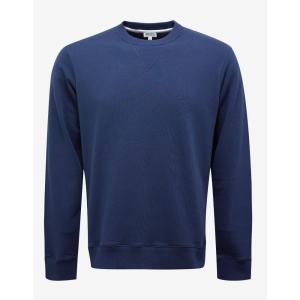 ケンゾー Kenzo メンズ スウェット・トレーナー トップス Navy Logo Print Sweatshirt Blue|fermart-shoes