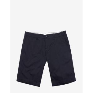 モンクレール Moncler メンズ ショートパンツ ボトムス・パンツ Navy Bermuda Shorts Blue|fermart-shoes