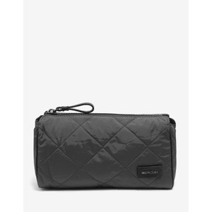 モンクレール Moncler メンズ ポーチ Quilted Pochette Grey|fermart-shoes