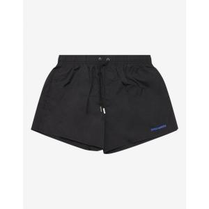ディースクエアード Dsquared2 メンズ 海パン 水着・ビーチウェア Black Icon Short-Length Swim Shorts Black|fermart-shoes