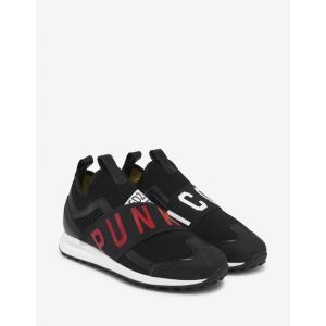 ディースクエアード Dsquared2 メンズ スニーカー シューズ・靴 Black Punk Icon Trainers Black|fermart-shoes