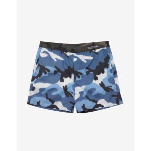 ヴァレンティノ Valentino メンズ 海パン 水着・ビーチウェア Light Camouflage Print Swim Shorts Blue|fermart-shoes