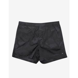 ヴァレンティノ Valentino メンズ 海パン 水着・ビーチウェア Camo Print Swim Shorts Black|fermart-shoes