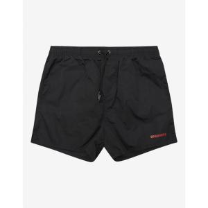 ディースクエアード Dsquared2 メンズ 海パン 水着・ビーチウェア Black Icon Swim Shorts Black|fermart-shoes