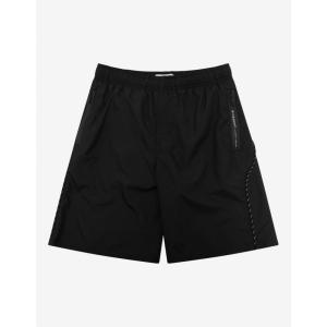 ジバンシー Givenchy メンズ 海パン ショートパンツ 水着・ビーチウェア Black Lace Detail Swim Shorts Black|fermart-shoes