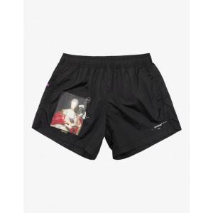 オフホワイト Off-White メンズ 海パン ショートパンツ 水着・ビーチウェア Black Mariana De Silva Swim Shorts Black|fermart-shoes